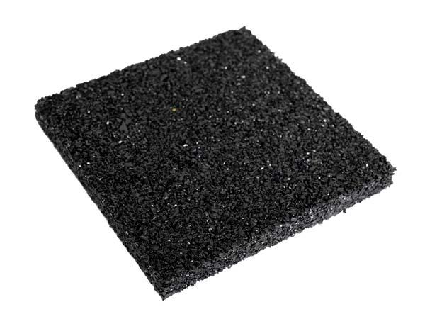 Plancha de goma para vigas SBR 100x100 mm