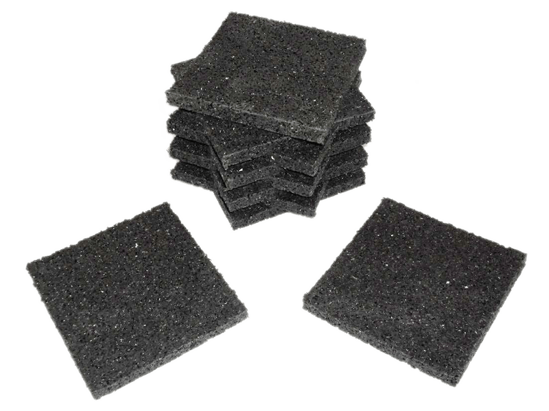 Available SBR granulate decking pads
