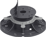 Regulowany wspornik tarasowy pod legary 45-70 MM