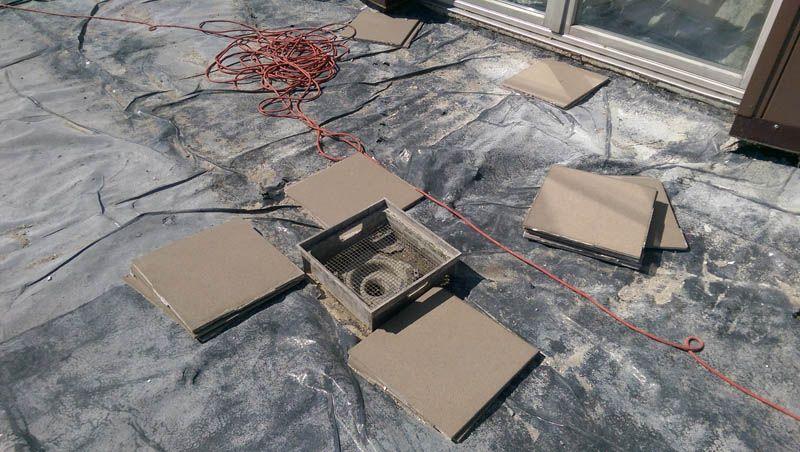 Naprawa tarasu dzięki technologii tarasów wentylowanych