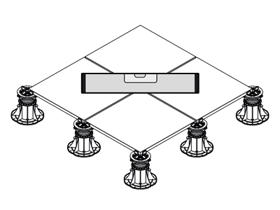 Flat surface