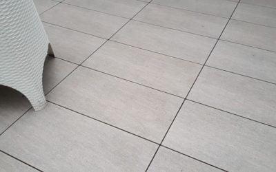 Terrace tiles porcelain rectified 2 CM