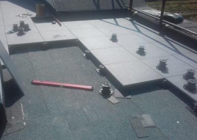 terrace tiles installation