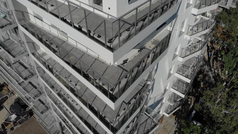 wentylowane balkony zpłyt stan deweloperski