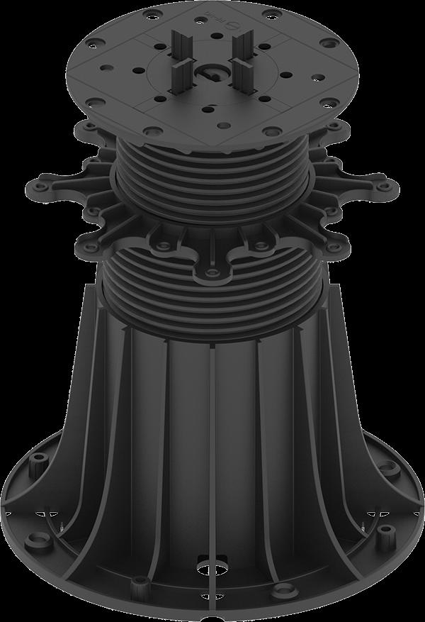 Duże Regulowane wsporniki tarasowe MAX regulacja 40-950 mm