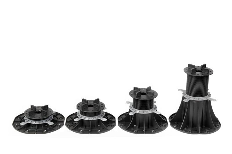 Adjustable pedestals for terrace