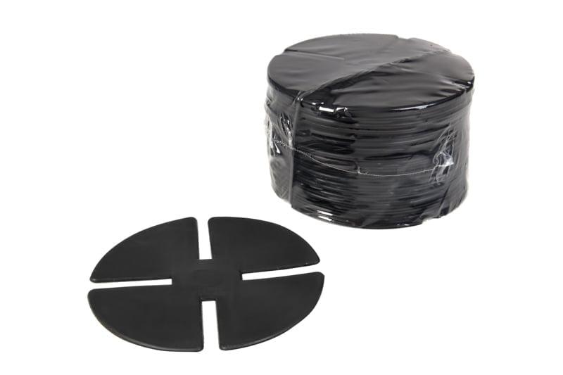 Noise reduce rubber shims for tiles