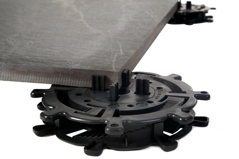 Stelzlager für Platten - Keramikplatte