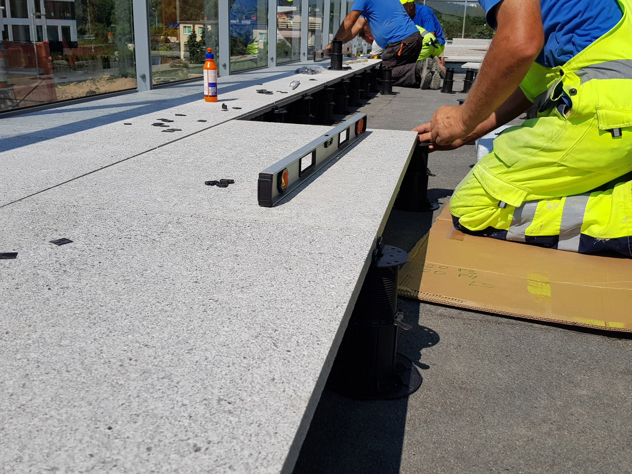 Terrace and patio projects cooperation with contractors and architects