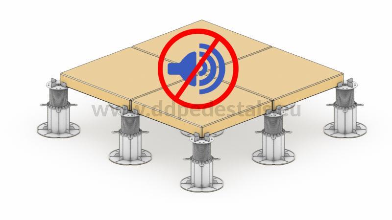 raised terrace ventilated advantages soundproofed acoustics