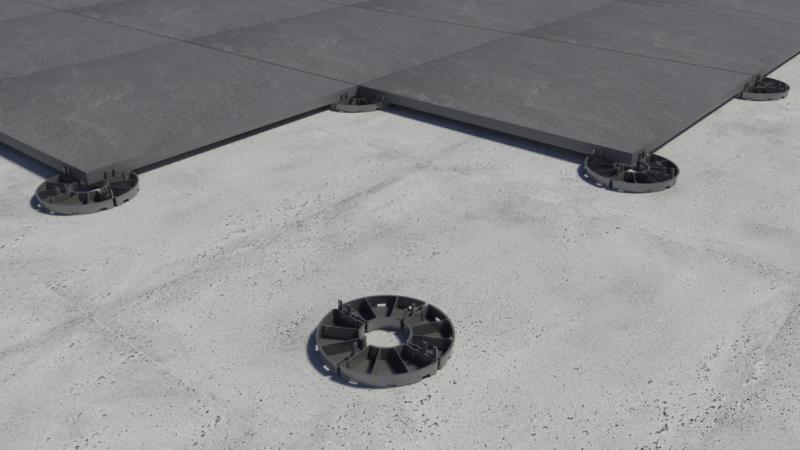 modułowe dystanse podpłyty ceramiczne