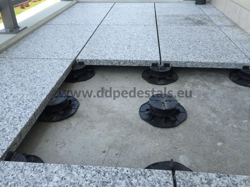 raised terrace ventilated flat