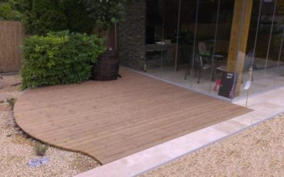How to make a terrace in the garden? See how easy it is