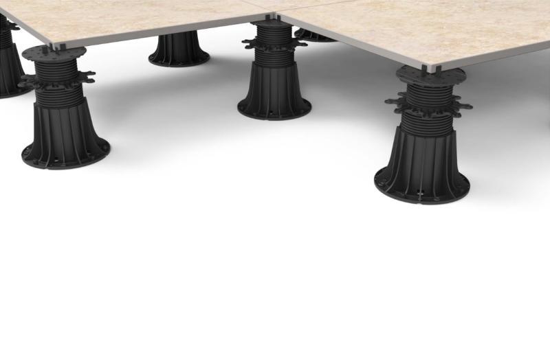 płyty ceramiczne 60x60 nawsporniku tarasowym regulowanym MAX