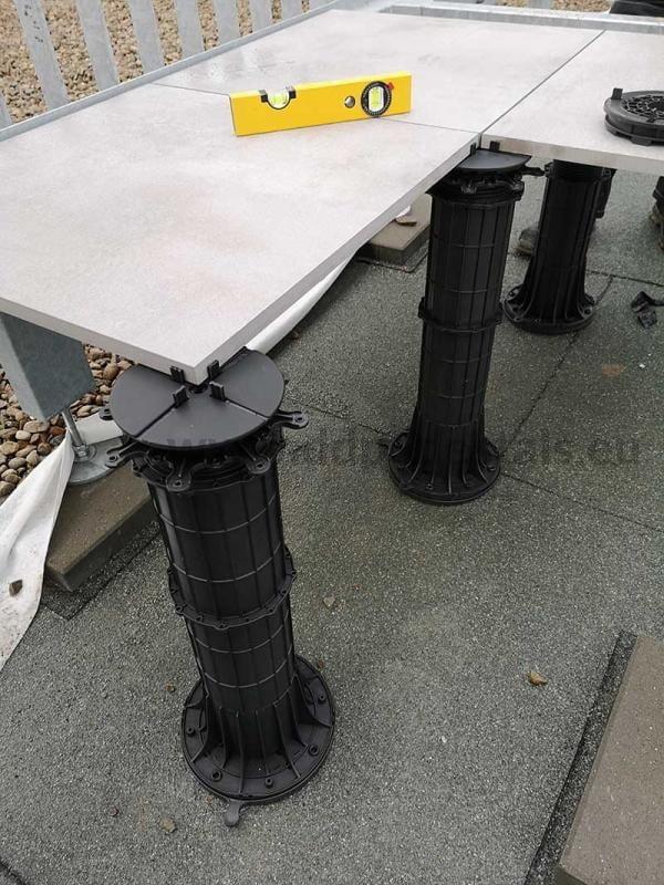 podniesienie poziomu tarasu wentylowanego okilkadziesiąt centymetrów