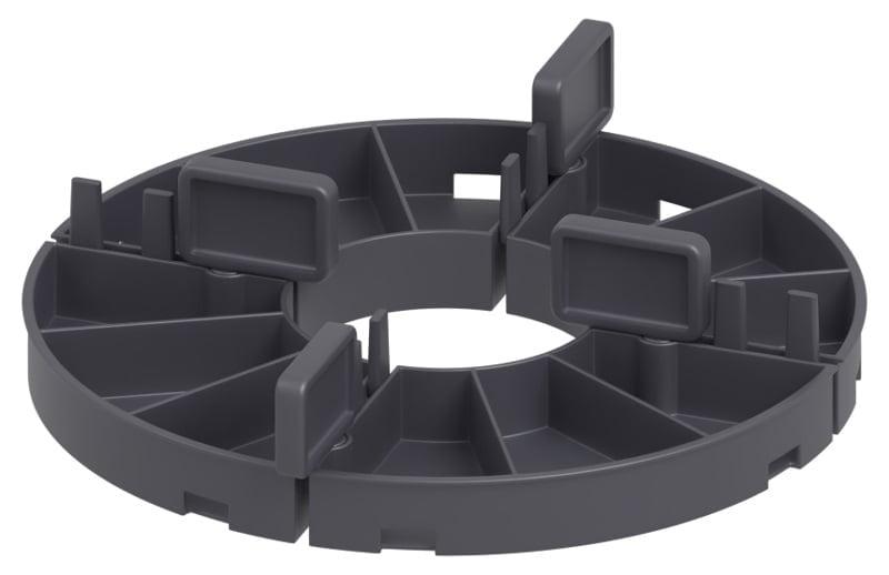 modułowa podstawka tarasowa zlistkami fugowymi dowyboru