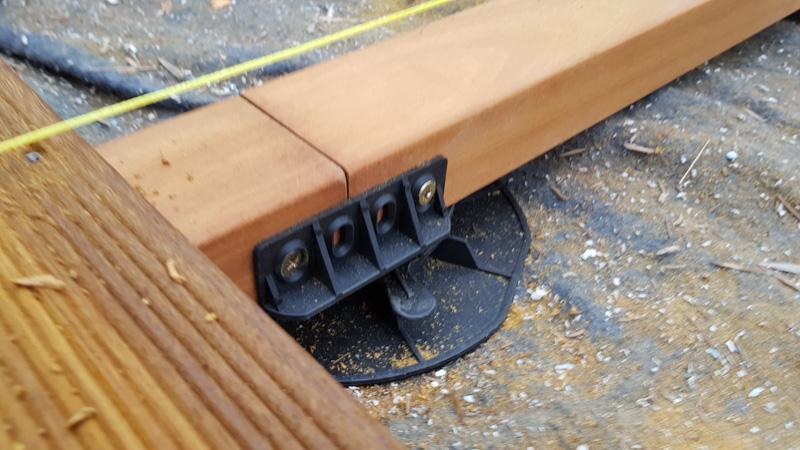adapter for joists for adjustable deck pedestals