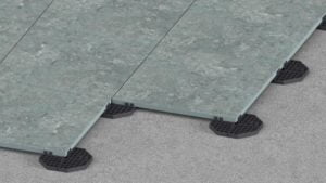 modular support pads for ceramic tiles