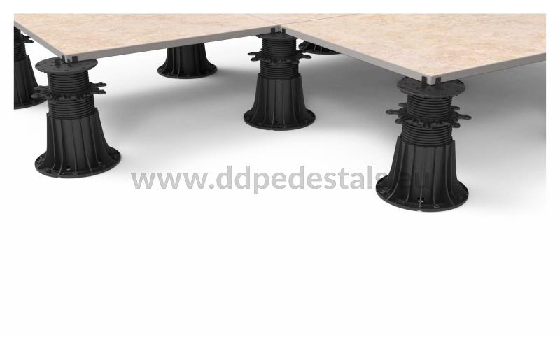 strength of the adjustable pedestals for ceramic tiles terrace