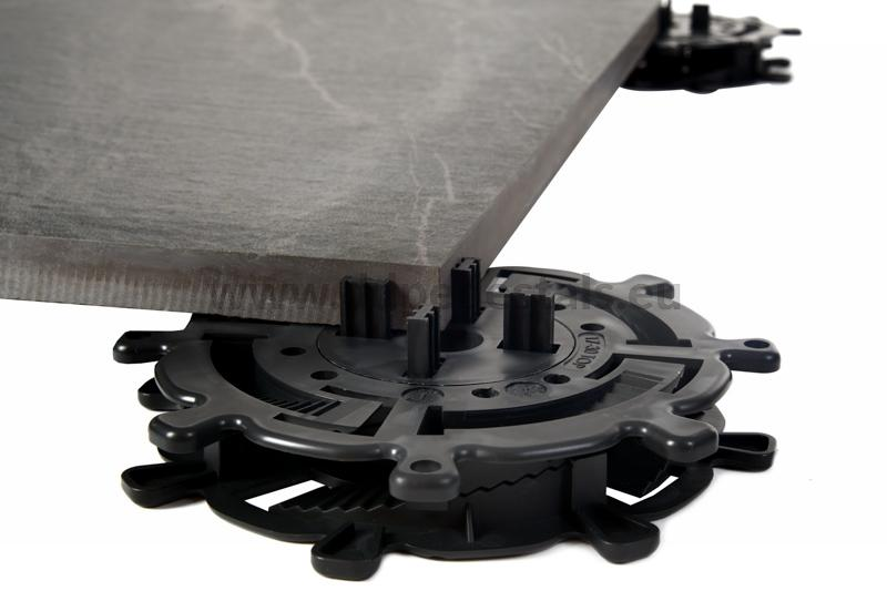 strength of the adjustable pedestals spiral series for terrace