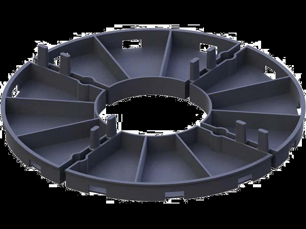 Podstawki tarasowe pod płyty wysokości 2 mm / 8 mm / 10 mm / 15 mm / 16 mm