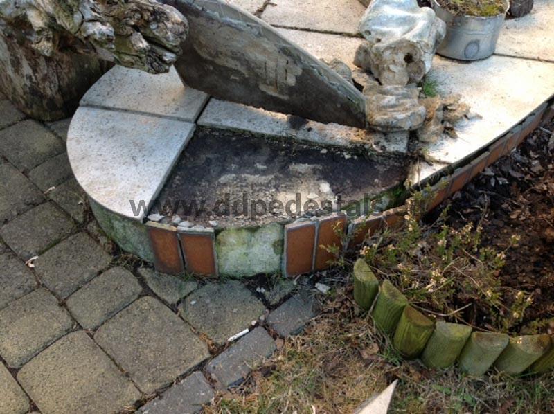 Renovation-terrace-falling-tiles-forging