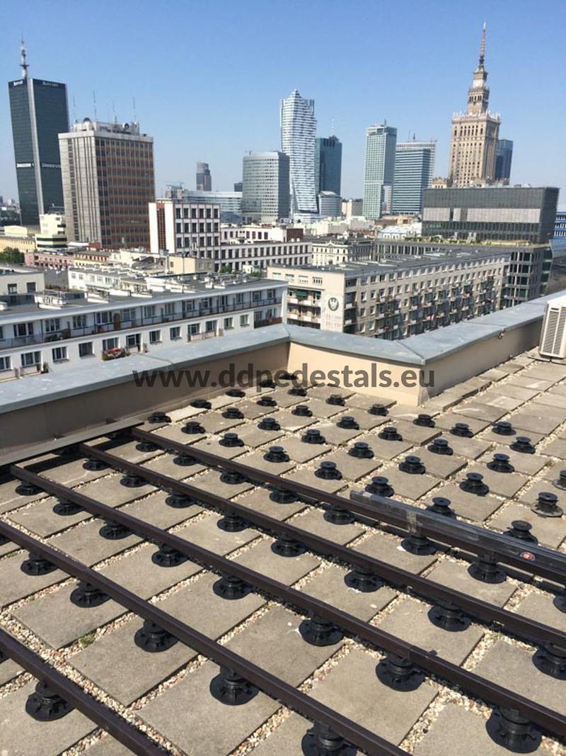 raised terrace, ventilated, roof terrace