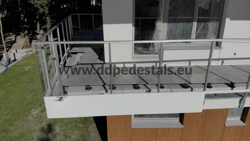 raised terrace - ventilated terrace - developer residential