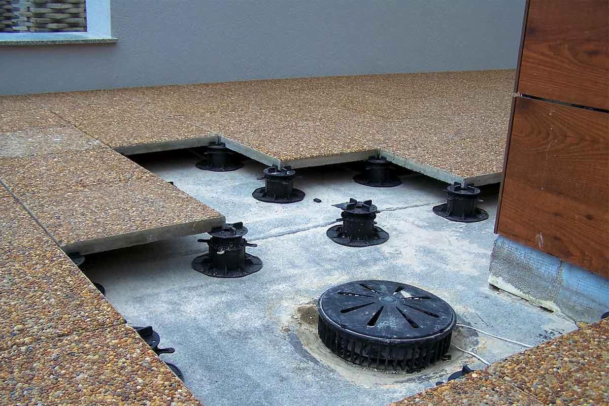 Eine komplette Anleitung zu Doppelboden Terrassen und belüfteten Terrassen