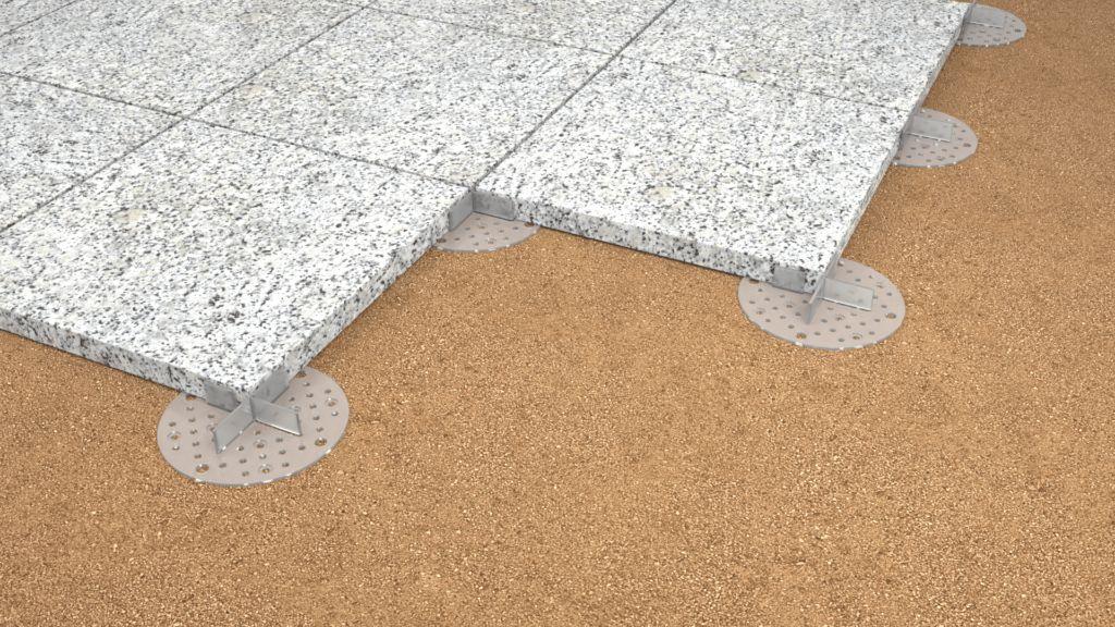 płyty kamienne układane nażwirku