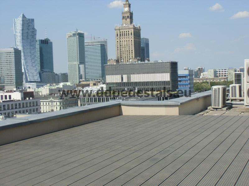 Terrasse ventilée sur le toit