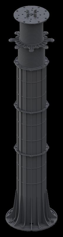 wzmocnione wsporniki regulowane MAXwysokość tarasu 950