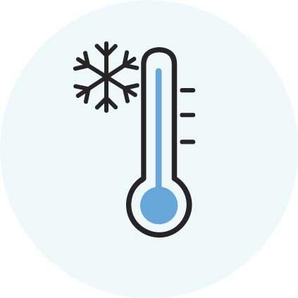 les températures basses