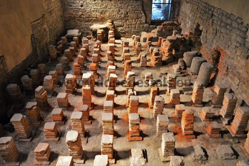 Nivellement des sols à Rome antique
