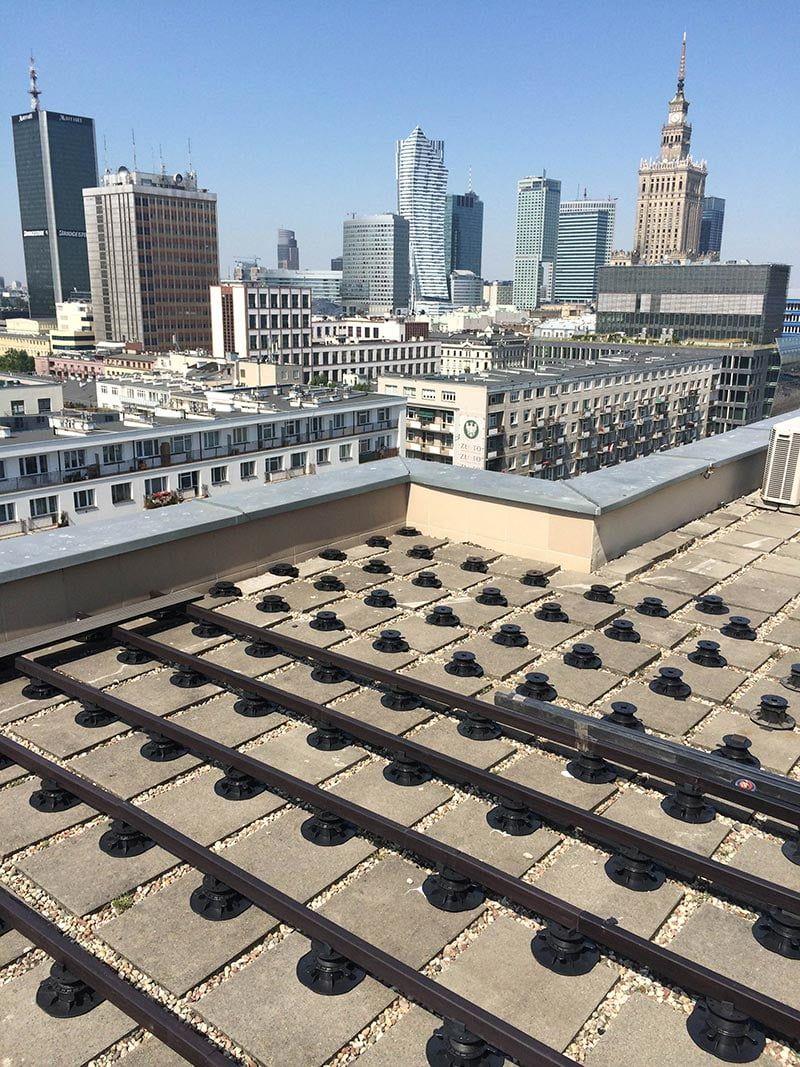 wie viele Stützen für eine belüftete Terrasse