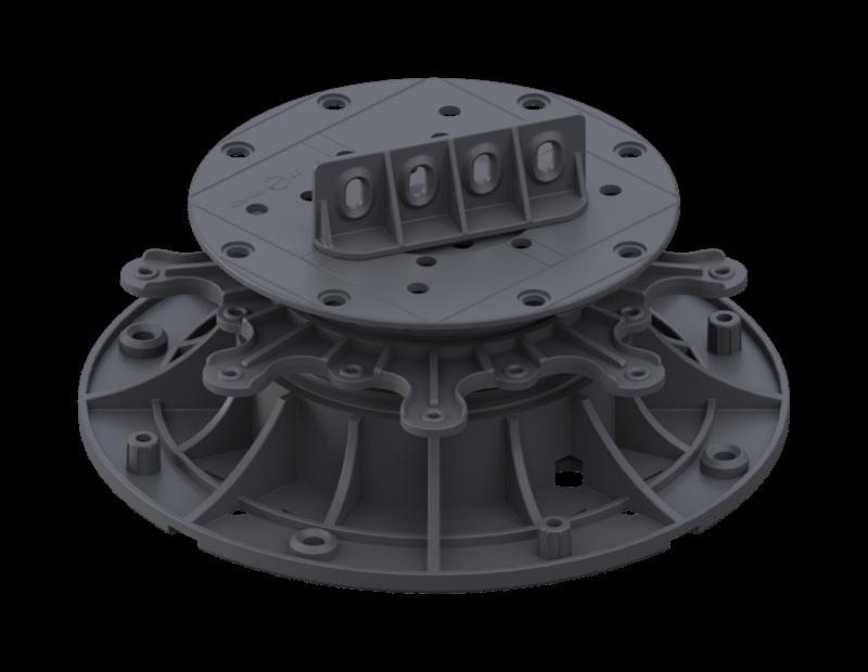 Wspornik regulowany MAX 45-75 MM