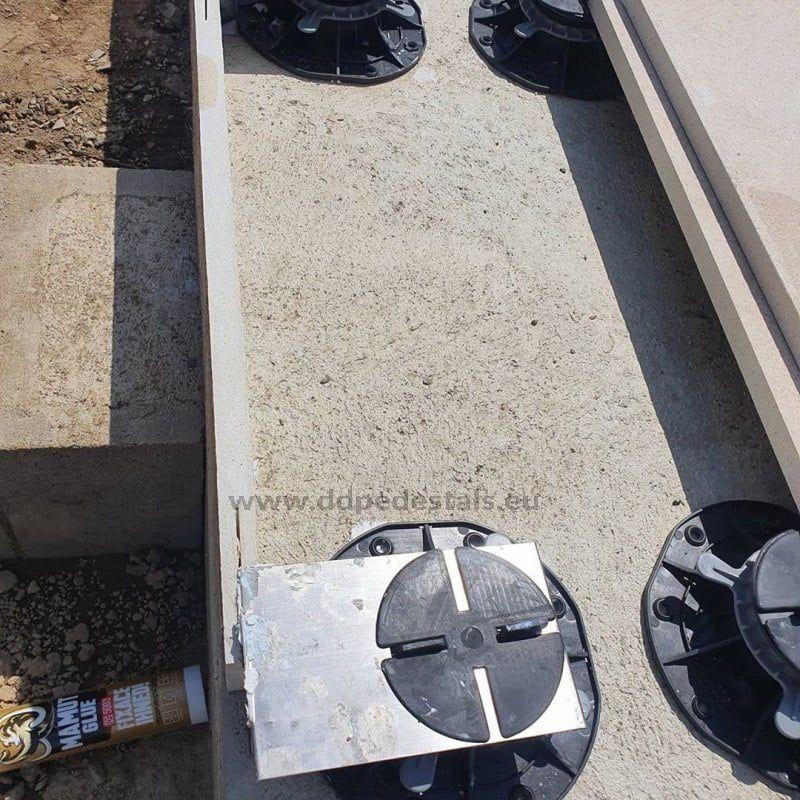 klipsy stalowe domontażu płyt maskujących podkonstrukcję