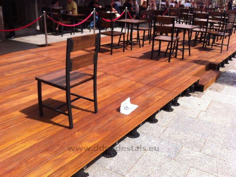 samodzielne wykonanie schodków natarasie restauracyjnym